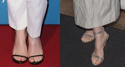 Felicity Jones Feet Amp Legs In Sexy High Heel Stiletto Shoes