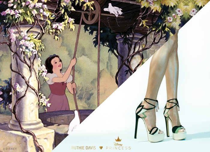 Disney X Ruthie Davis Friend of the Forest (Snow White) Sandals