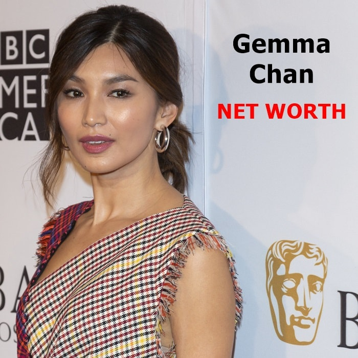 Gemma Chan's estimated net worth is $6 million dollars