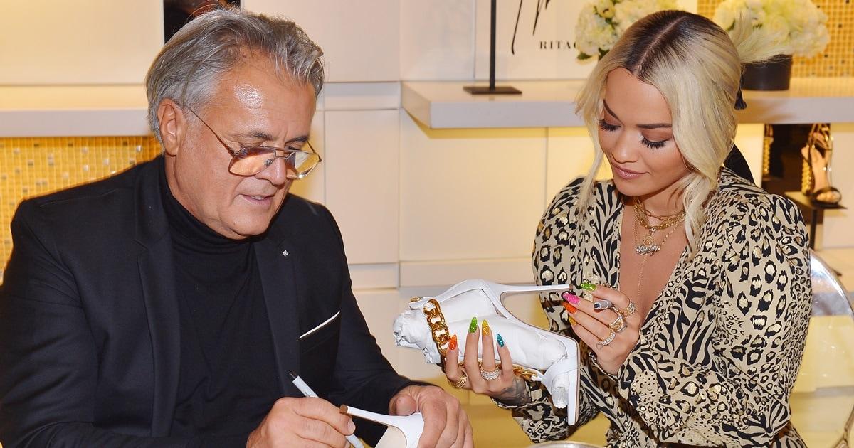 f914ea0b6a2 Rita Ora s Sexy Giuseppe Zanotti Shoe Collaboration