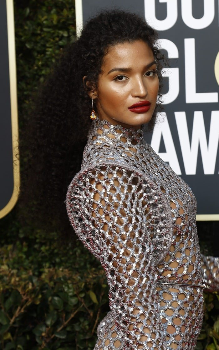 Indya Moore was named worst dressed at the 2019 Golden Globes