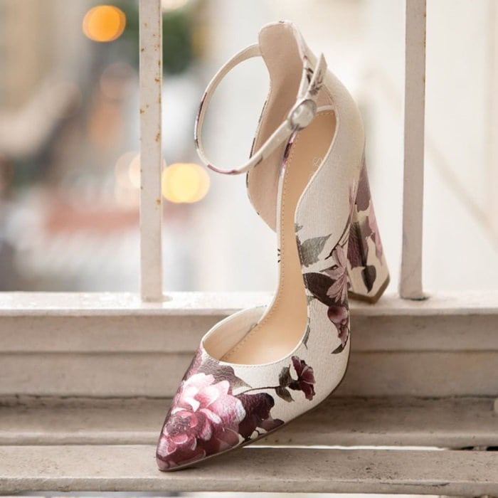 Floral Print Kiley Pumps