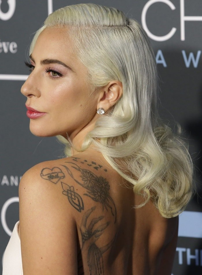 Lady Gaga is an avid body art enthusiast