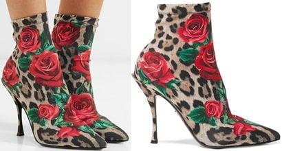 8e960743b6b9 Printed Stretch-Jersey Sock Boots by Dolce   Gabbana