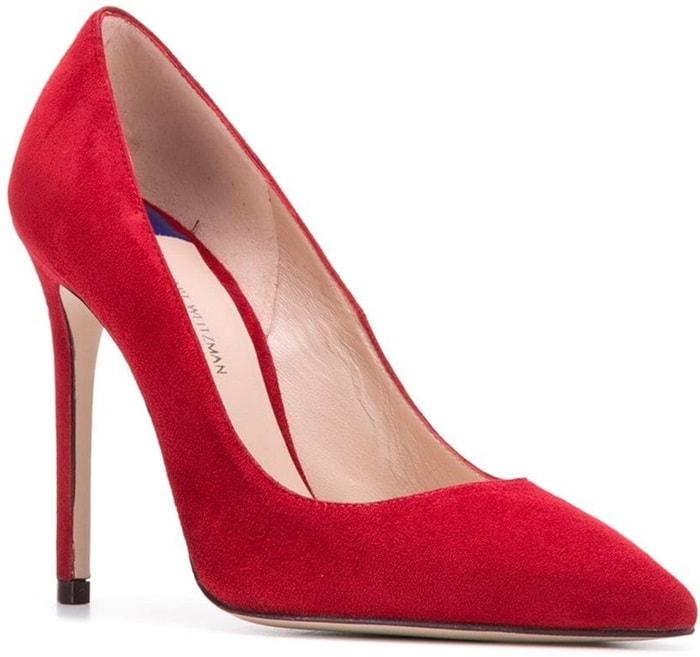 Red Stuart Weitzman High Heel Pumps
