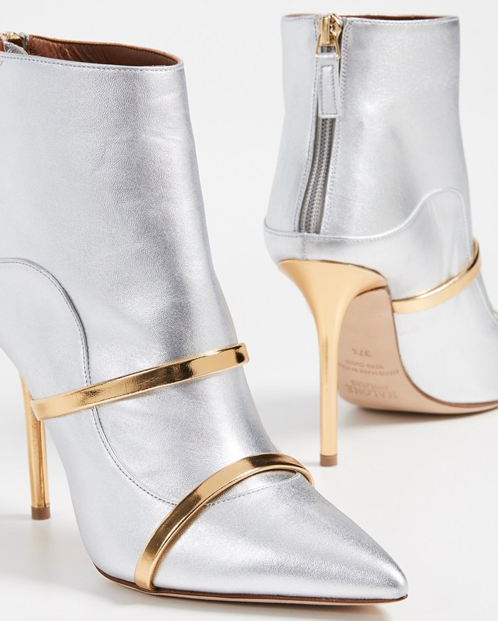 Silver/Gold Malone Souliers Madison Booties