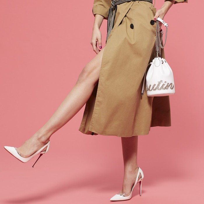 Cutout metallic piped patent pumps with PVC trim