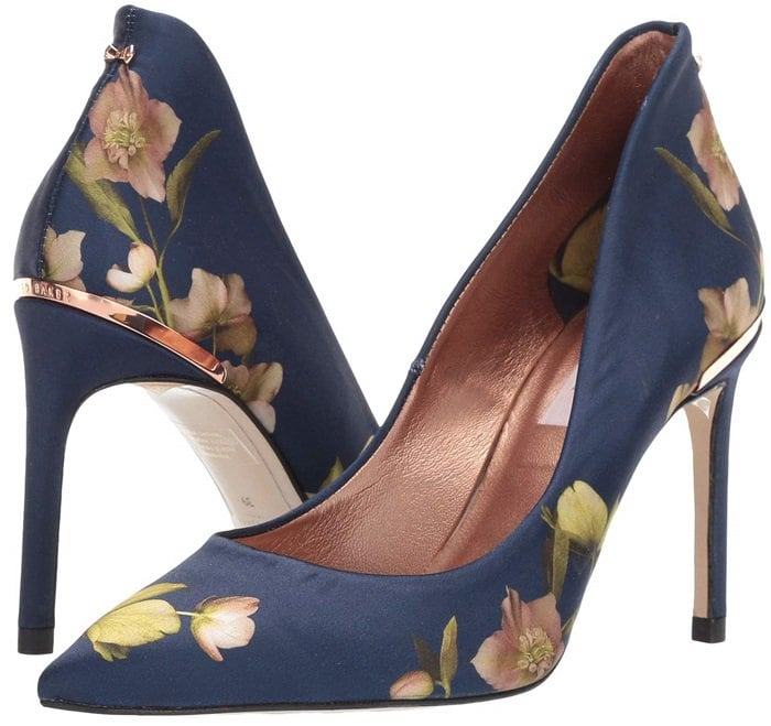 Ted Baker London designs the prettiest floral print shoes in the world