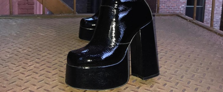 Widow Platform Booties With Extreme '70s-Inspired Lift