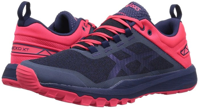 This is a trail running shoe made for people with high arches and neutral to under pronaters