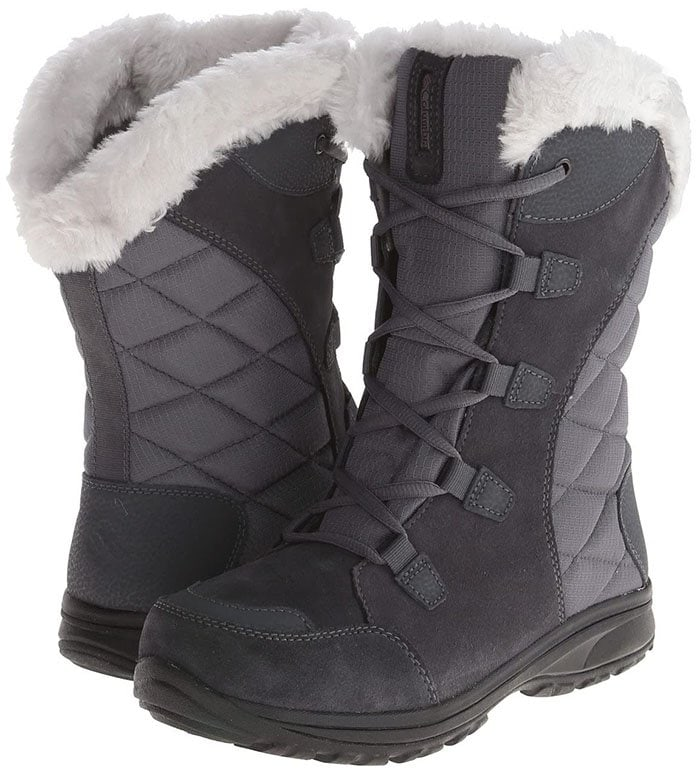 Technology and whimsical winter style marry in the Ice Maiden II from Columbia