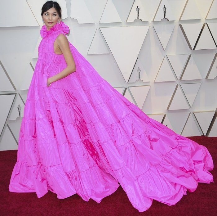 Gemma Chan divided fashion critics and was named best and worst dressed