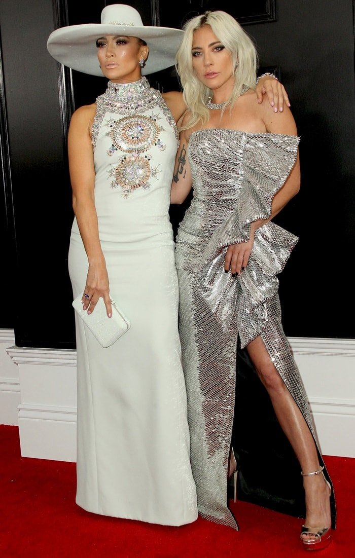 Lady Gaga and Jennifer Lopez helped open the 2019 Grammy Awards
