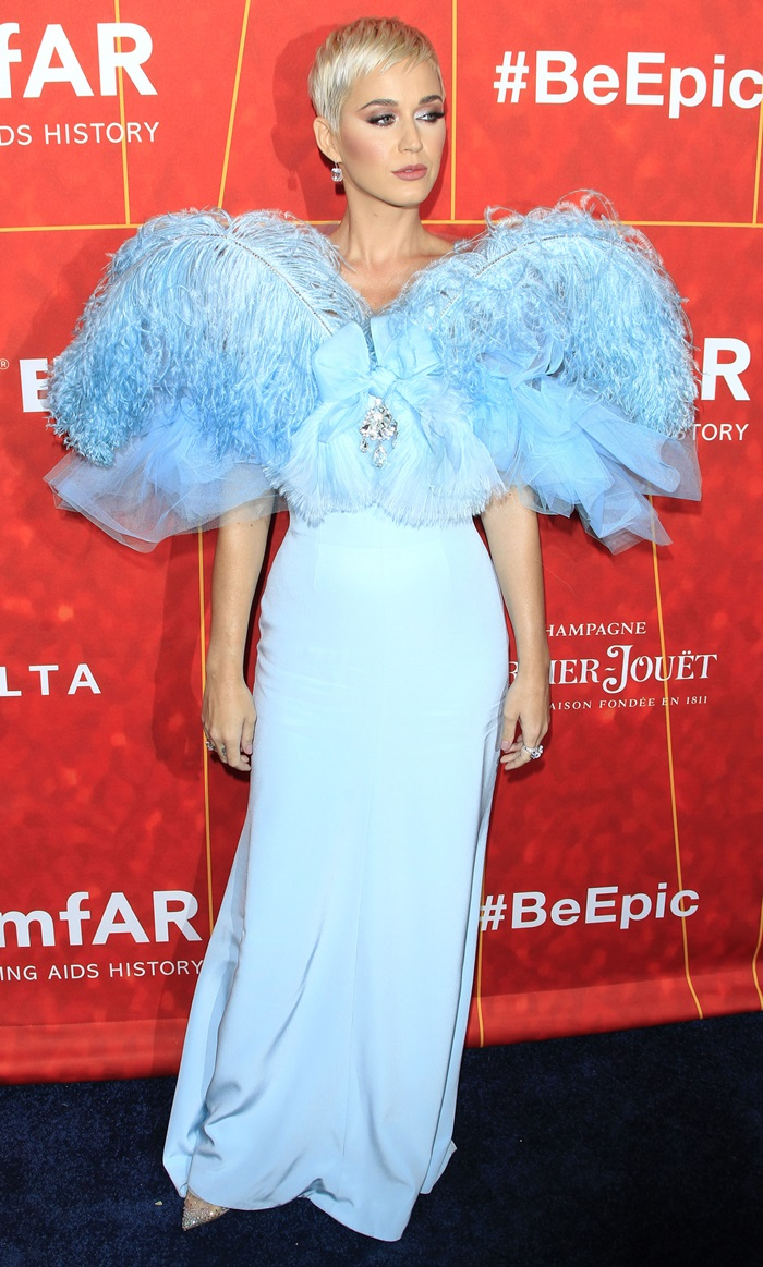Katy Perry was honored at the 2018 amfAR Gala Los Angeles