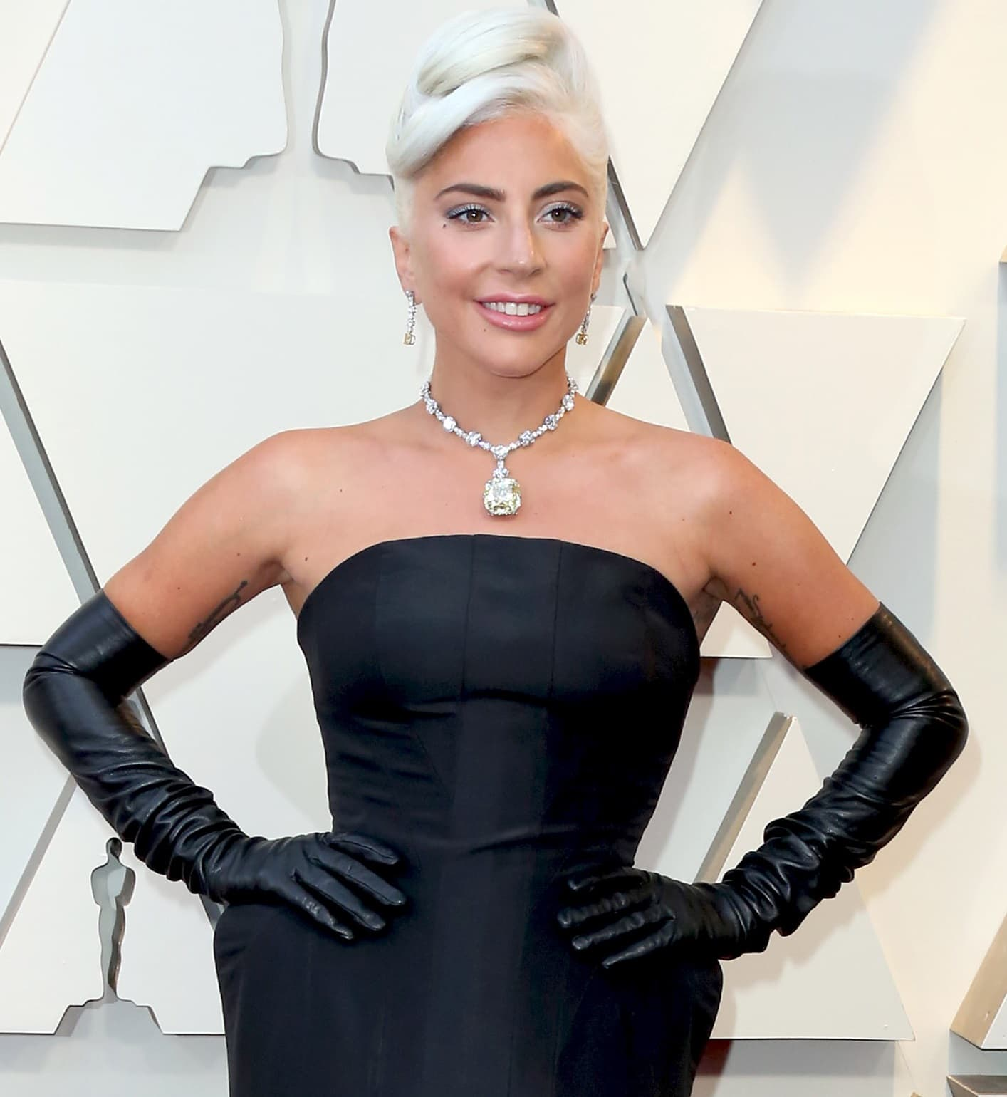 Lady Gaga wore the same diamond as Audrey Hepburn at the 2019 Academy Awards