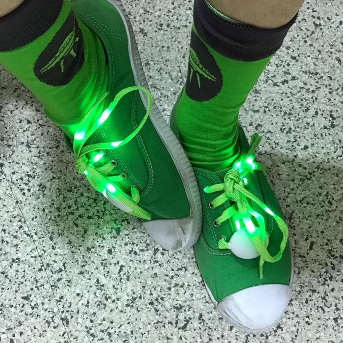 Light Up Shoe Laces 6 Colors