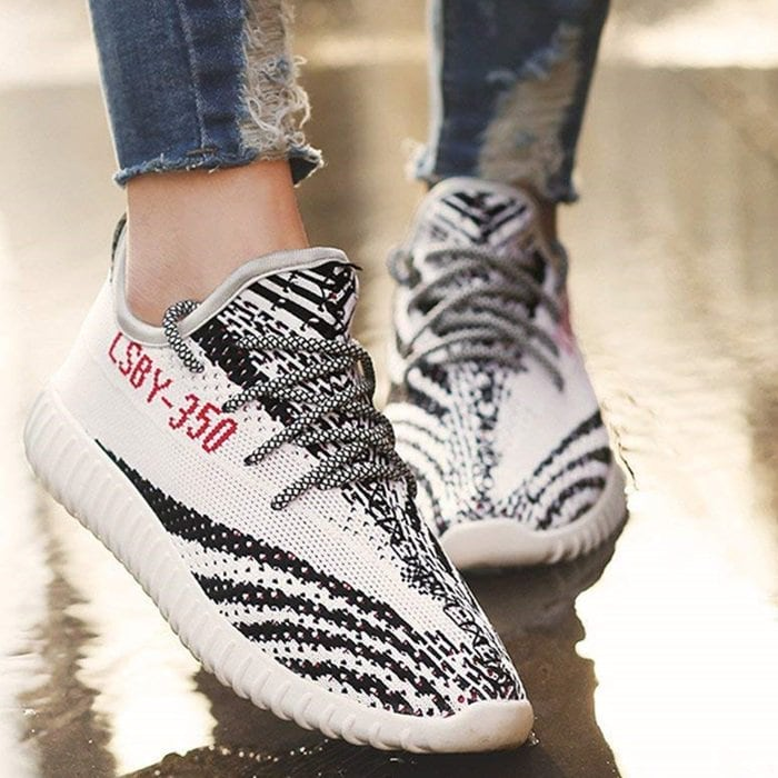 Lightweight Fashion Sneakers Athletic Knit