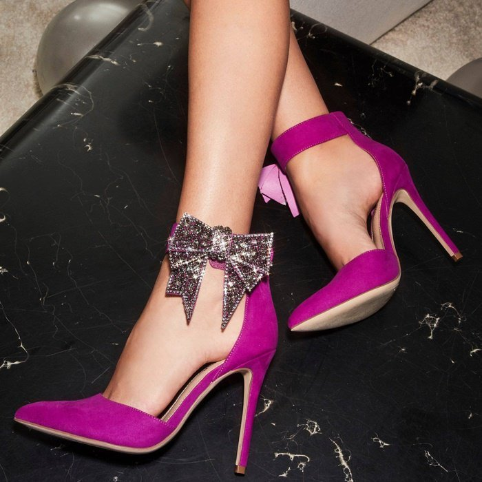 Lucy Bow-Embellished Pumps