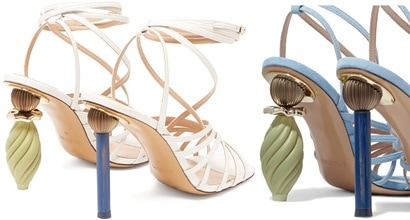 14f3a8f24 Mismatched Heels With Ornaments Like Wearable Pieces of Art