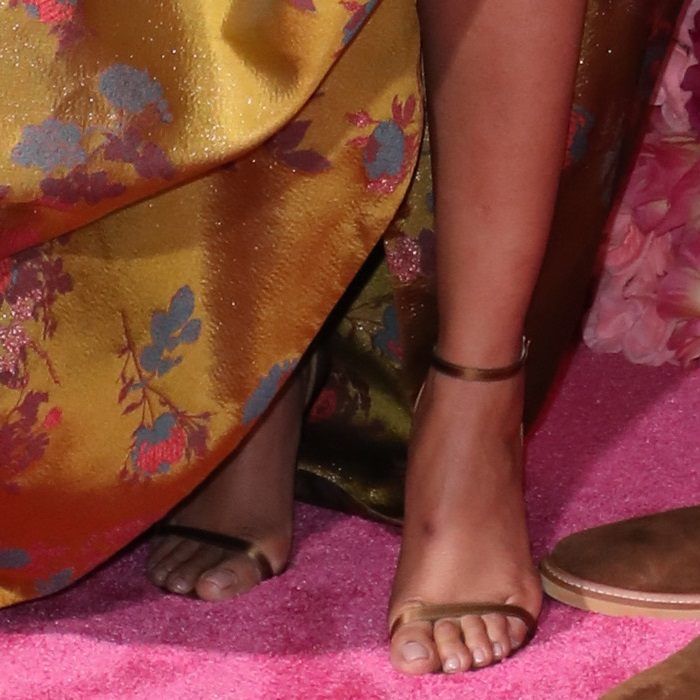 Priyanka Chopra Jonas showed off her pretty feet