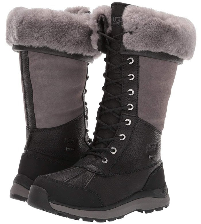 Enjoy the great outdoors with the superior style of the UGG Adirondack Tall Boot III