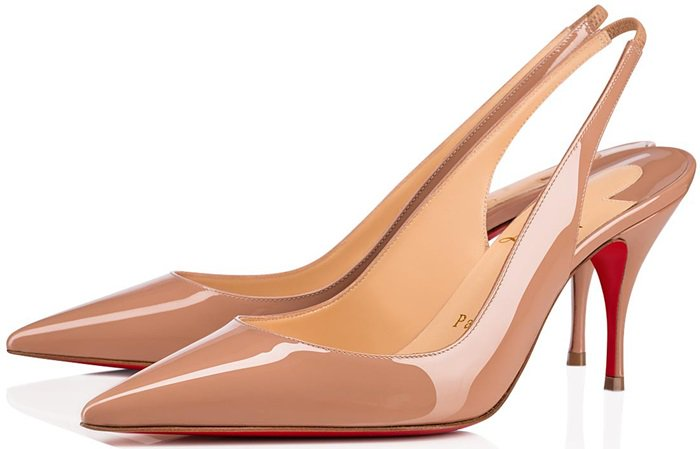 These dusty-pink Clare pumps are a fine example of Christian Louboutin's finesse for elegant femininity