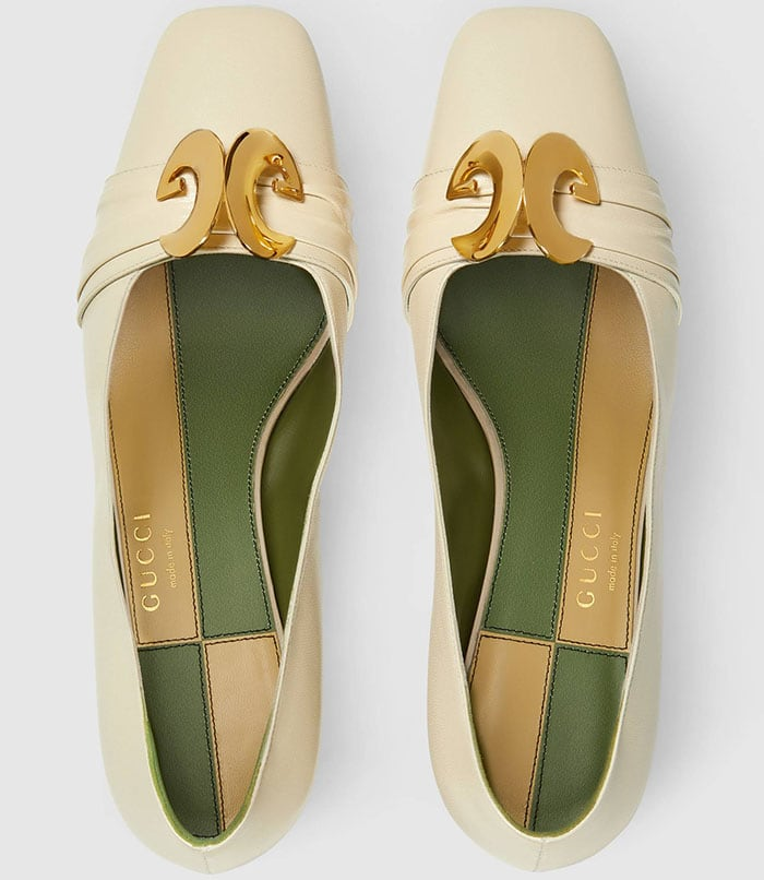 The stitching and lining of Gucci shoes should be perfect
