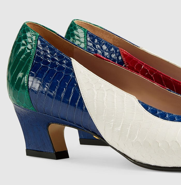 Gucci shoes are made from luxury materials