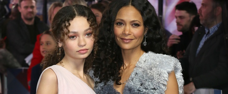 Thandie Newton's 14-Year-Old Daughter Nico Parker at Dumbo Premiere