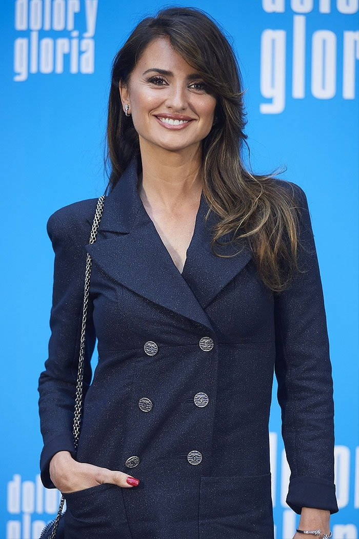 "Penelope Cruz attending the photo call for ""Dolor y Gloria"" (Pain and Glory) at Villamagna Hotel in Madrid, Spain, on March 12, 2019"