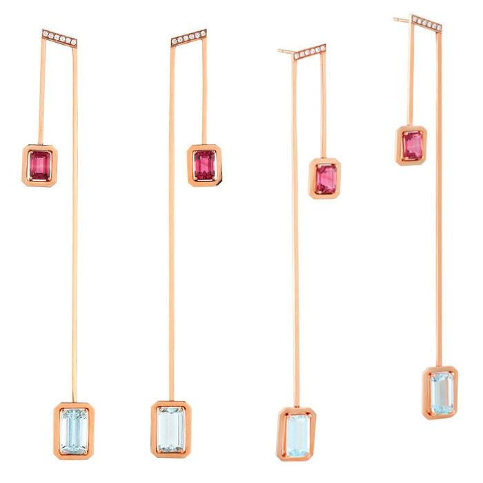 State Property Fine Jewelry 'Acapella' earrings