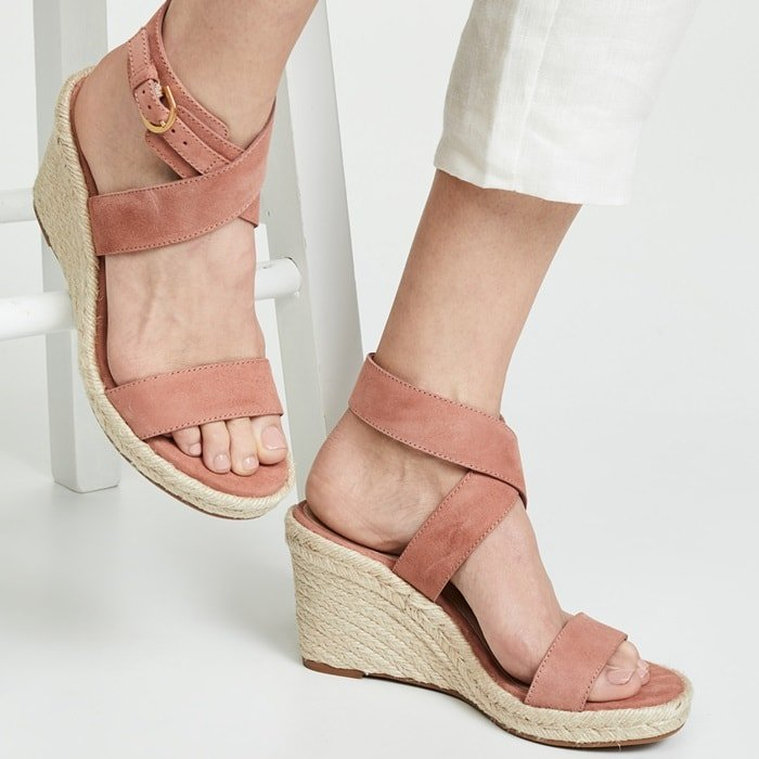 Elevate summer ensembles with the Lexia sandals from Stuart Weitzman
