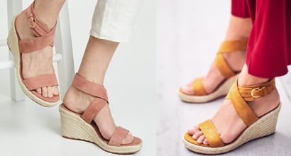 8a64accc99e Elevate Your Sun-Chasing Style in Classic Espadrille Wedge Sandals