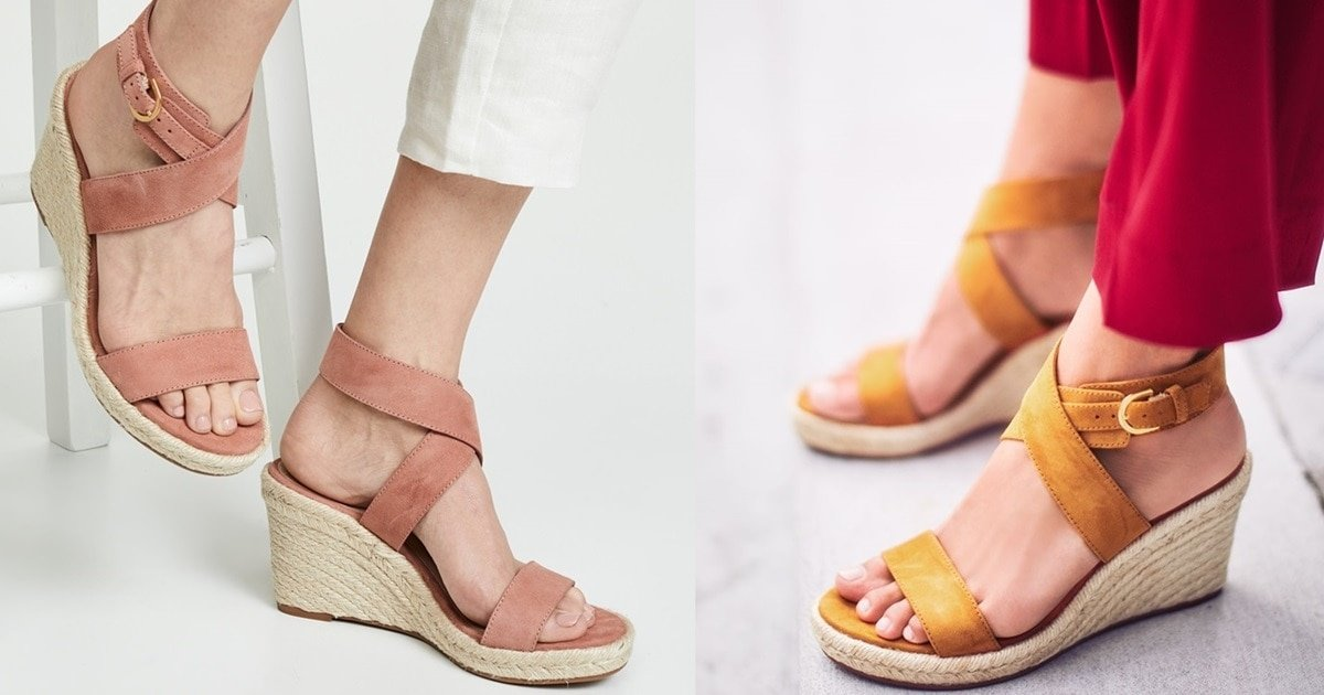 Elevate Your Sun Chasing Style In Classic Espadrille Wedge
