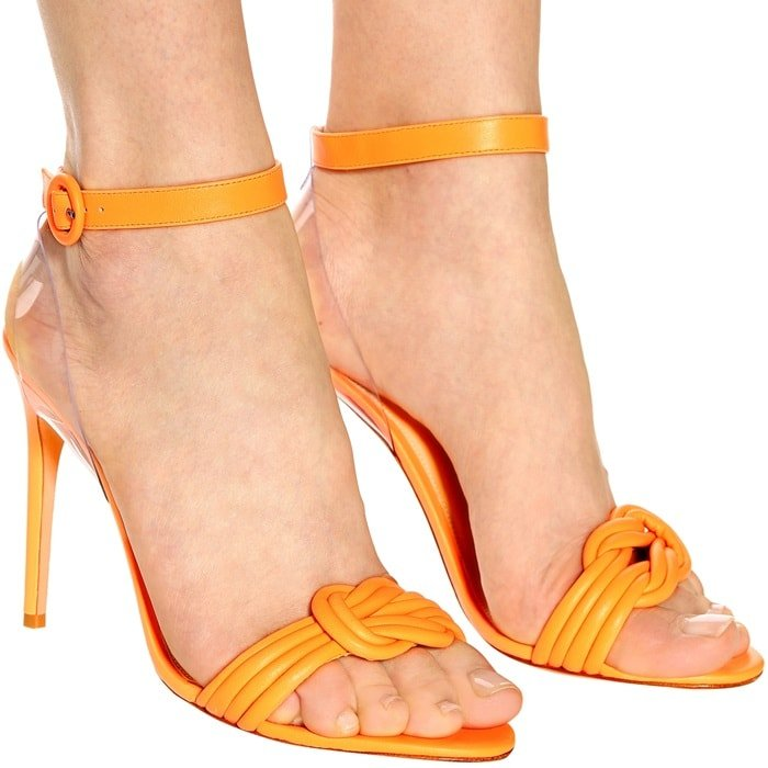 Add an '80s slant to your new-season edit by opting for the Vicky 100 sandals from Alexandre Birman