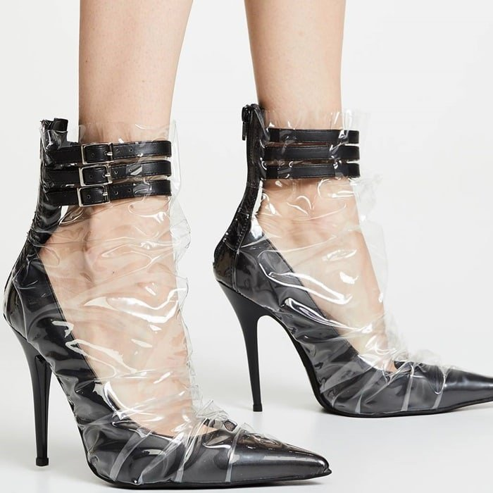 These vacuum sealed heels from Jeffrey Campbell are perfect for a date with Dexter Morgan