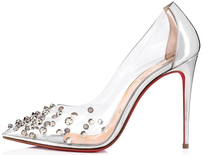 65589204341 Collaclou Pumps With Signature Studs: Louboutin's '60s Homage