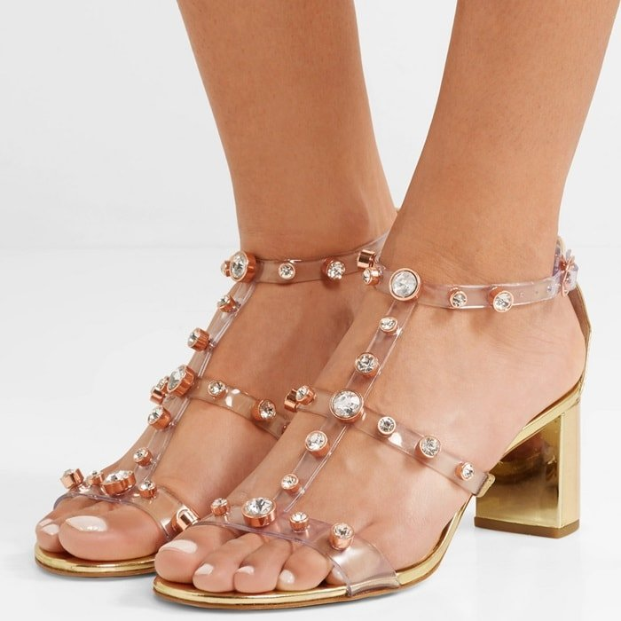 Sophia Webster really knows how to design shoes that make a statement - just look at these 'Dina' sandals