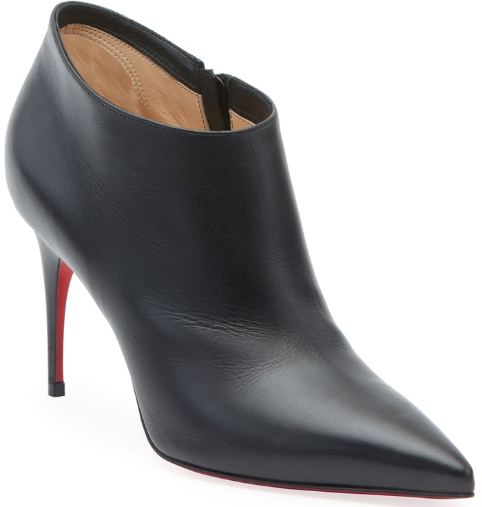 Christian Louboutin smooth leather ankle booties