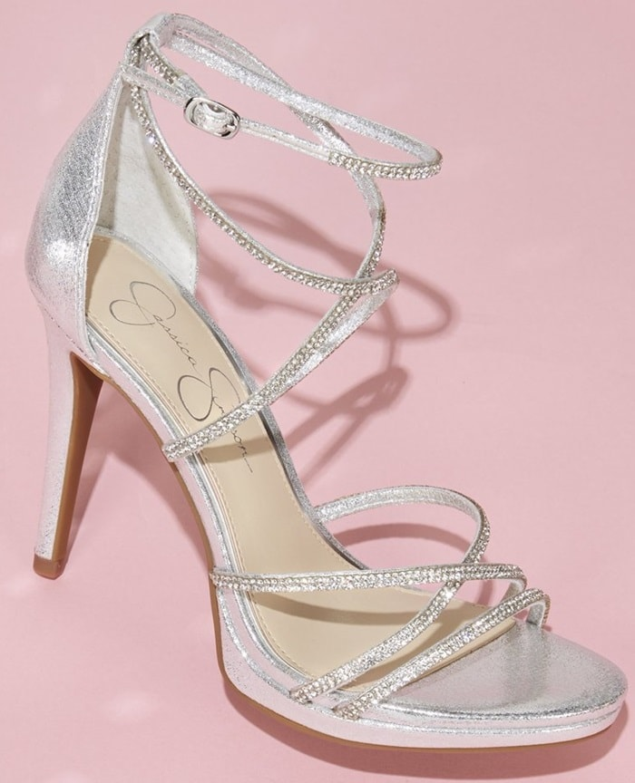 61ecacd9cd5a Party-Ready Jaeya Sandals With Embellished Strappy Upper