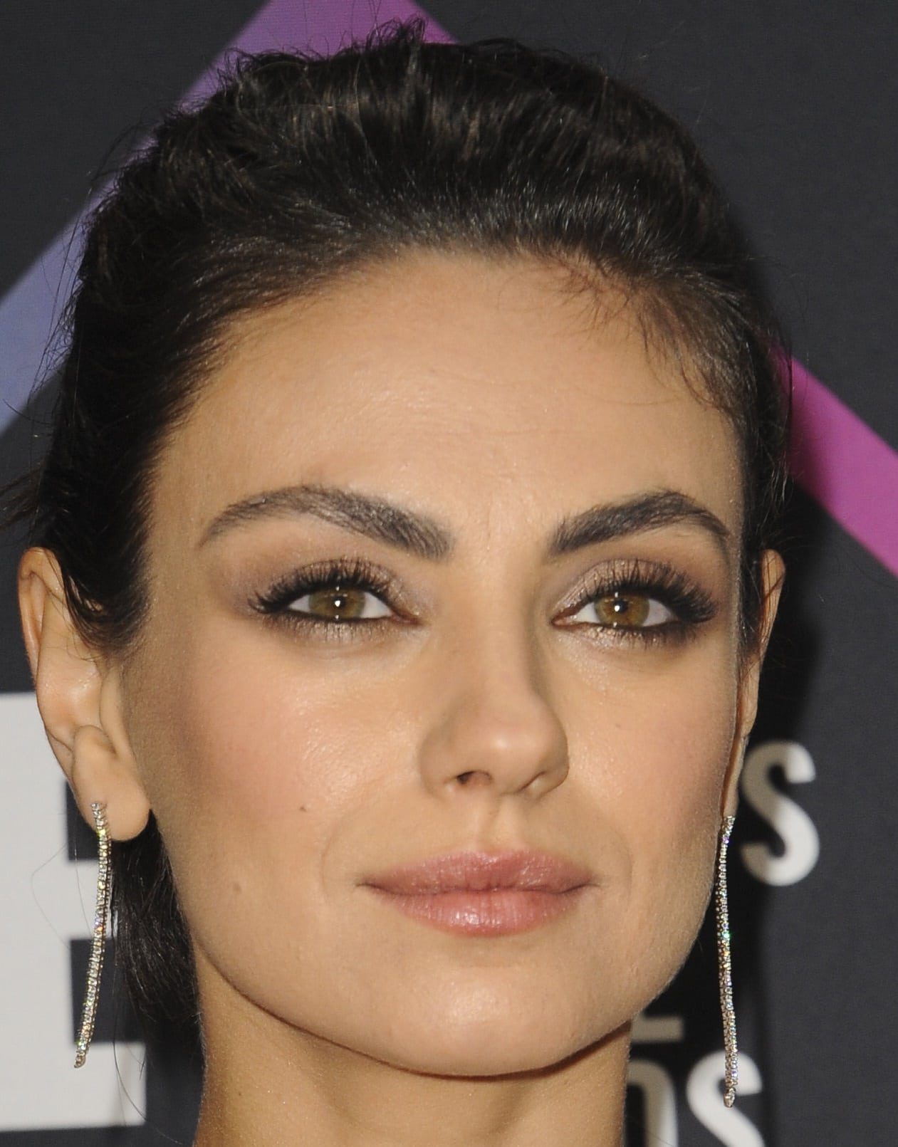 Mila Kunis has two different eye colors due to heterochromia