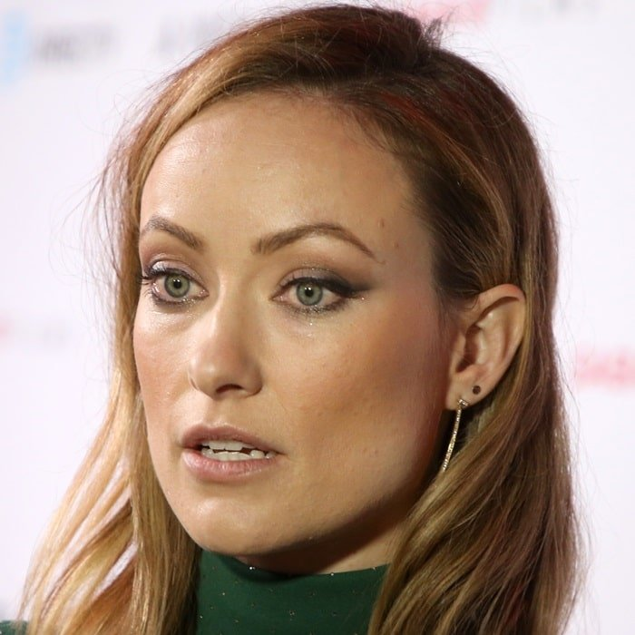 Olivia Wilde's exotic eyes never seem to be the same color
