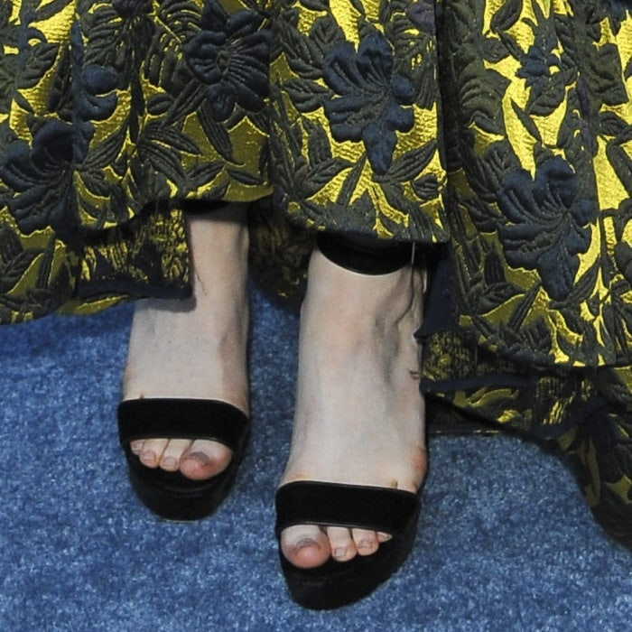 Rose Leslie's toes belong north of the wall