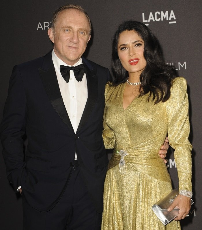 Salma Hayek's husband Francois-Henri Pinault and his father Francois have pledged over $113 million to help reconstruct Notre Dame