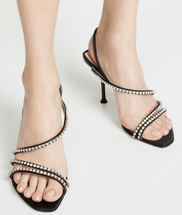 Sergio Rossi Milano Diamond Sandals