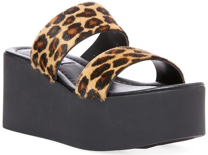 Leopard Kailani-L Platform Sandals