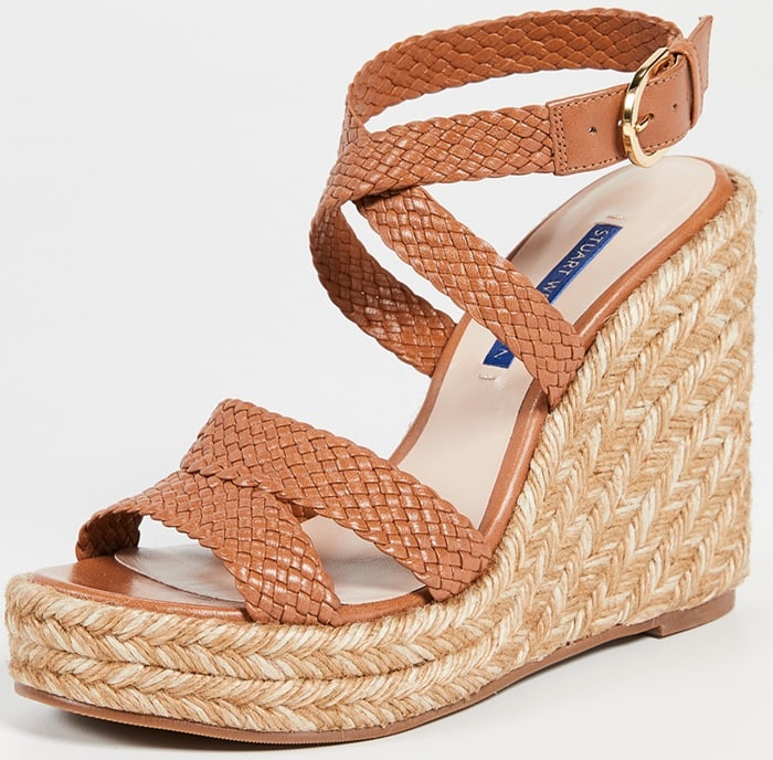 Elevate summer ensembles with the Elsie espadrilles from Stuart Weitzman
