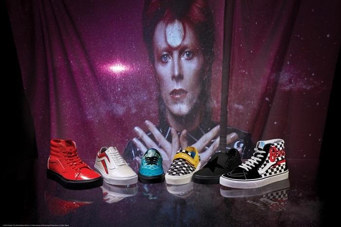 Vans x David Bowie collection