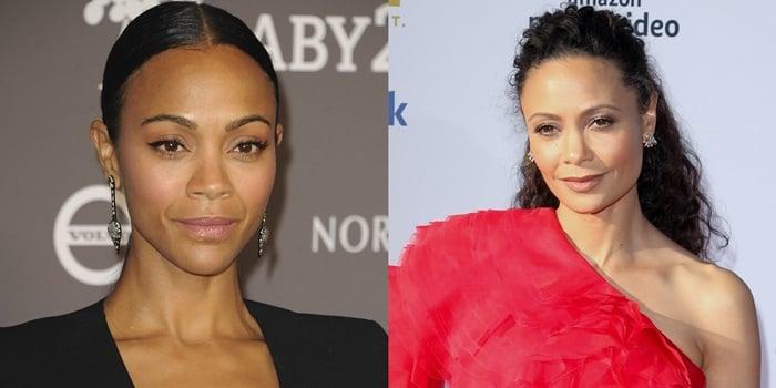 Zoe Saldana's mother confuses her for Thandie Newton