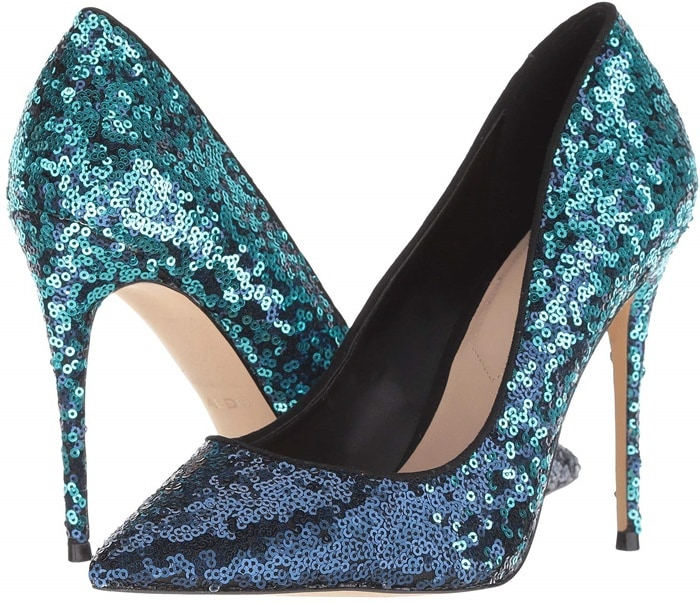 Aldo's most-popular pump is glamorous, sexy and surprisingly versatile, all at once